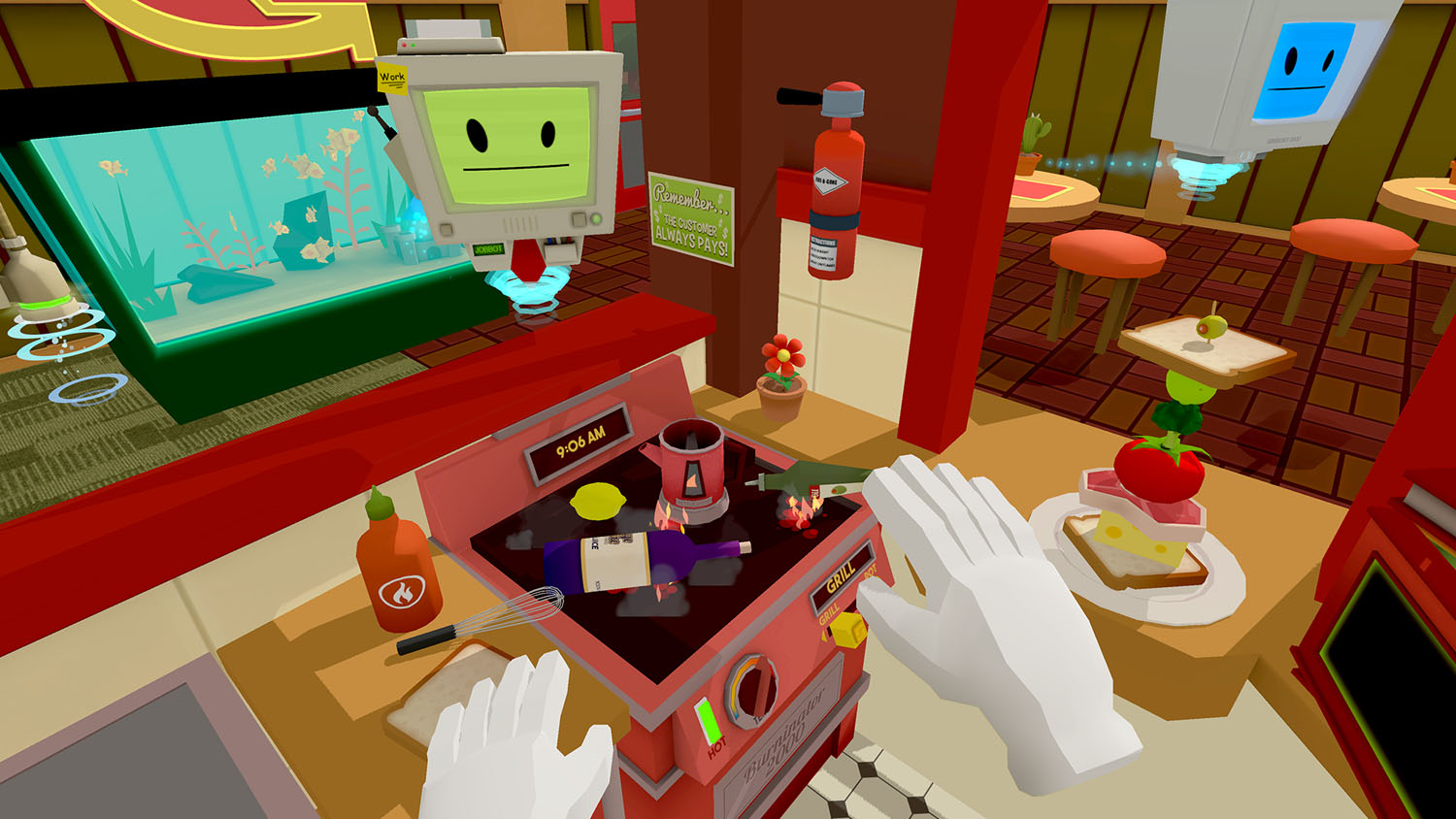 Job Simulator - Kitchen