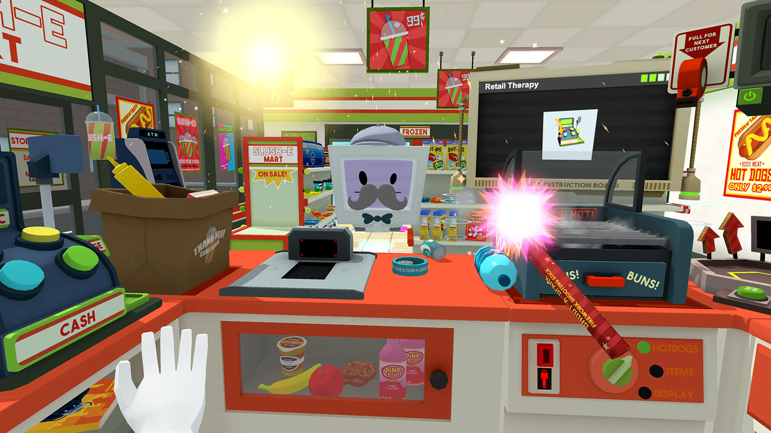 Job Simulator - Convenience Store